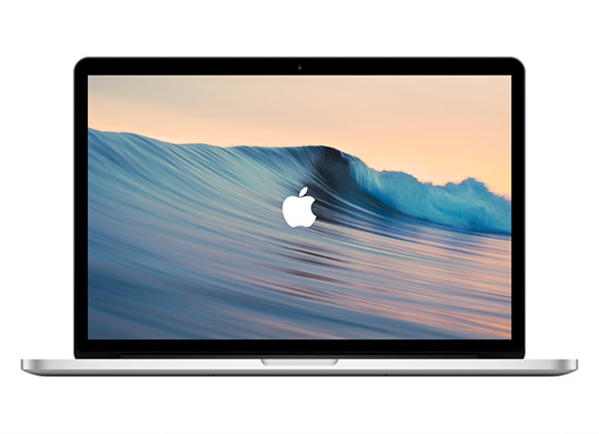 MacBook Pro vector mockup